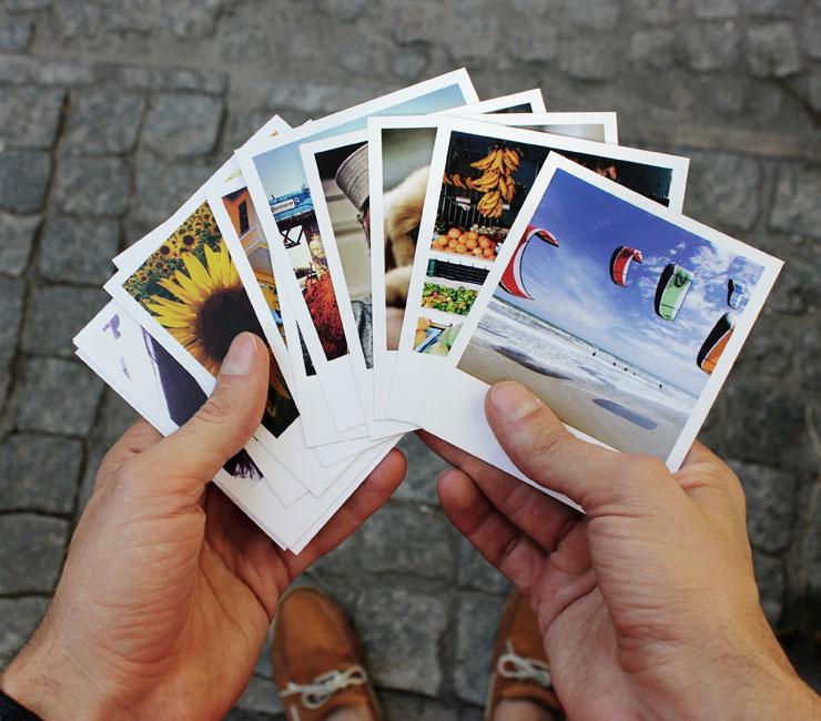 Распечатать фотографии из инстаграмма
